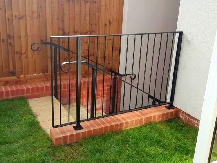 commercial metal ​ railings